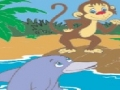 the monkey and the dolphin - gujrati