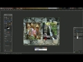 GIMP - How to blend two images together  - English