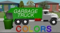 Color Garbage Truck - Learning for Kids - English
