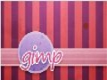 GIMP - Striped Background Design - English
