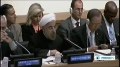 [27 Sept 2013] Rouhani: NAM objects to unilateral sanctions on movement members - English