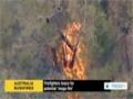 [21 Oct 2013] Australian firefighters brace for potential mega fire - English