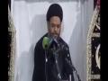 [09] Muharram 1435 - Nizam e Haq aur Qiyam e Hussain (a.s) - H.I Aqeel Ul Gharavi - Urdu