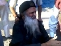 Abdul Sattar Edhi joins the Muharram Ashura procession in Karachi - Urdu