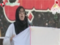 [یوم حسین ع] Speech : Sis. Hina Hameed - 02 September 2013 - Sindh Medical Collage - Urdu