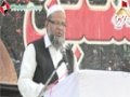 [یوم حسین ع] Speech : Dr. Mairaj Ul Huda : Ameer Jamate Islami - 02 September 2013 - Sindh Medical Collage - Urd