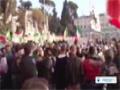 [18 Dec 2013] In Italy Protesters demand resignation of PM Enrico Letta government - English