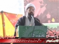 {02} [یوم حسین ع] Speech : H.I Amin Shaheedi - International Islamic University, Islambad - Urdu
