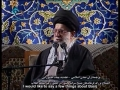 Ayatullah Khamenei recommends increasing Islamic virtues Patience,Tolerance,Forgiveness - Farsi sub English