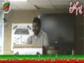 [یوم حسین ع] Speech : Br. Muhammad Mehdi - 23 December 2013 - Fedral Urdu University, Islamabad - Urdu