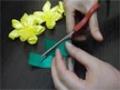 D.I.Y. Satin Ribbon Flower - Tutorial English
