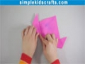 How to make an origami Japanese Kusudama flower - English