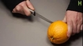 Make a Lamp from an Orange in 1 minute.Kitchen Science - English
