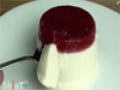STRAWBERRY PANNA COTTA  English