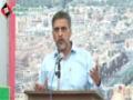 [Seminar : Shaheed Dr. Muhammad Ali wa Shaheed Ustad Sibte Jaffer] Speech : Br. Farrukh - 25 Mar 2014 - Urdu