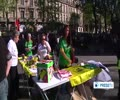 [17 Apr 2014] France rallies in support of Intl Palestinian Prisoner Day - English