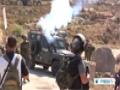 [23 Apr 2014] Israeli troops shower Bethlehem village with tear gas - English