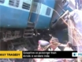 [04 May 2014] Casualties as passenger train derails in western India - English