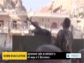 [07 May 2014] Militant evacuation from Syrian city suspended - English