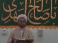 Hadith of the Week - H.I. Hurr Shabbiri - 11 May 2014 - English