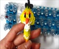 Loom Angry Birds Pencil Topper Charm -How to make - English