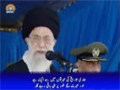 [29 May 2014] Azadi Bayan ke naam per Maghribi drama,apko azadi nahi - Supreme Leader Khamenei - Urdu