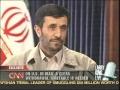 23 Sep 08- CNN Lari King live interview with Irani President Ahmadinejad Part 5-English