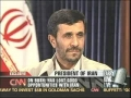 23 Sep 08-CNN Lari King live interview with Irani President Ahmadinejad Part 1-English
