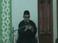 Amiral momineen oar Ahyae Manaviat 22 sep 08 Day1 Part I - Urdu