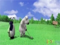 [01] Animated Cartoon Bernard Bear - Golf - All Languages