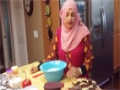 Double Layered Burfi in English Raihana Cusine - English