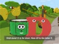 Learn about the Letter D - The Alphabet Adventure With Alice And Shawn The Train - English