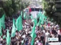 [08 Aug 2014] Gazans march to push Palestinian demands from Israel - English