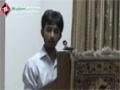 [سیمینار : معرفت امام زمانہ] Manqabat : Br. Minhaj - 15 June 2014 - Urdu