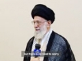 Short Interview Ayatollah Khamenei before his surgical operation 2014 - Farsi sub English