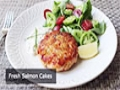 Fresh Salmon Cakes Recipe - Salmon Patties - English