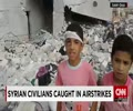 Syria: Civilians and children are among the first victims of US airstrikes - English