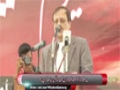 [یوم حسین ع] Speech : Ahmed Azhar (VC Of Karachi Uni) - 18 Nov 2014 - Karachi University - Urdu