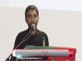 [یوم حسین ع] Salam : Br. Ammar - 03 December 2014 - Dawood Engineering University - Urdu