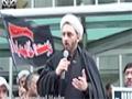 English   Moulana Shamshad Haider Arbaeen Juloos December 14, 2014 Houston, TX