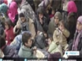 [18 Jan 2015] Syrians fleeing Takfiri militants infighting in Damascus countryside - English