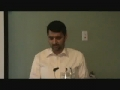 02 - Zainabia Center Seminar - H.I. Sartaj Zaidi - Introductory Remarks - English