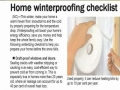 Tips How to Save Heat in Winter - English