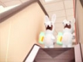 Animated Cartoon - Rabbids - Escalator Mystery - All Languages