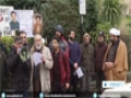 [16 Feb 2015] Protest held in London against killing of Pakistani minorities - English