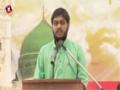 [Seminar : Yume Mustafa (S.A.W)] Naat : Br. Hamza - Karachi University - English