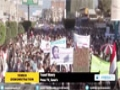 [07 March 2015] Houthi protesters slam US, Saudi meddling in their affairs - English