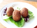 How to Make Falafel - Crispy Fried Garbanzo Bean/Chickpea Fritter Recipe - English