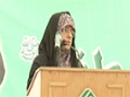 [Seminar : Yume Mustafa (S.A.W)] Speech : Sis Shazia - Urdu University - Urdu