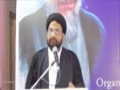 [Seminar : Shaheed-e-Khamis] Speech : Moulana Syed Taqi Raza Abedi - April 2015 - Urdu